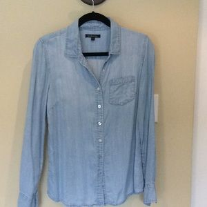 South Moon Under chambray shirt, size S